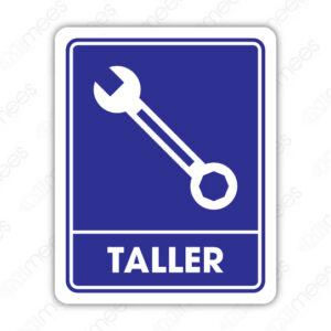 SIN 080 Señalamiento Taller