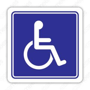 SIN 081 Señalamiento Discapacitados