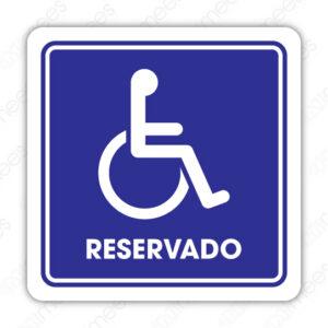 SIN 083 Señalamiento Reservado Discapacitados