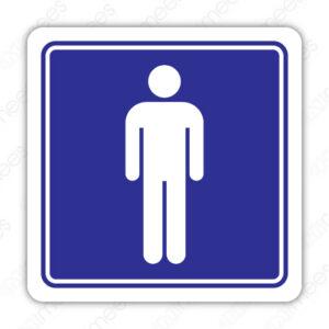SIN 089 Señalamiento Sanitario Hombres