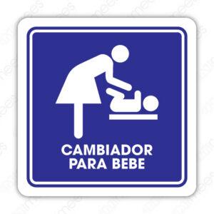 SIN 093 Señalamiento Cambiador Para Bebé