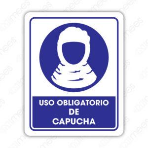 SOB 036 Señalamiento Uso Obligatorio de Capucha