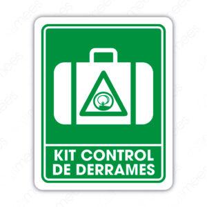 SPC 051 Señalamiento Kit Control de Derrames