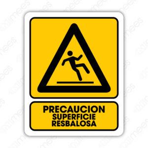SPR 082 Señalamiento Precaución Superficie Resbalosa