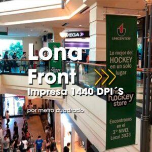 SPU-001 Impresión Digital en Alta Resolución en Lona Front 13oz