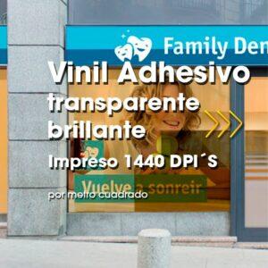 SPU-005 Impresión Digital en Vinil Adhesivo Transparente Brillante Alta Resolución