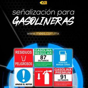 Señalización Gasolineras
