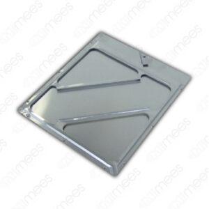 PORTAROMBO Base de Aluminio Para Colocación de Señalamientos de 27.3 x 27.3