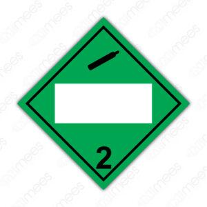 SRS 008 Rombo Clase 2 Gases Comprimidos, Refrigerados, Licuados o Disueltos a Presión