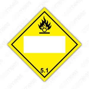SRS 017 Rombo Clase 5 Oxidantes y Peróxidos Orgánicos