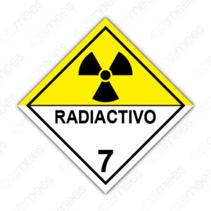 SRS 025 Rombo Clase 7 Radiactivos