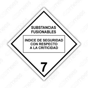 SRS 027 Rombo Clase 7 Radiactivos