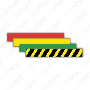 STU 007 Tira de Color Para Identificación