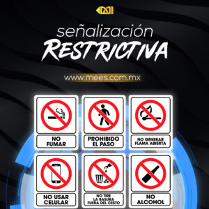 Señalización Restrictiva