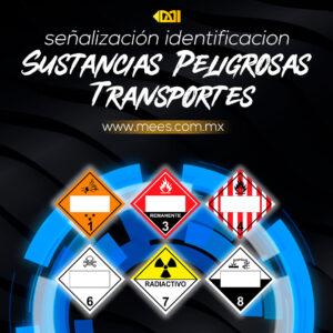 Señalización Identificación de Sustancias Peligrosas Transportes
