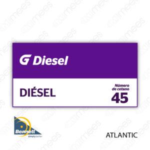 G500-CL-BATL-03 Carátula Lexan Bennett Atlantic Diesel