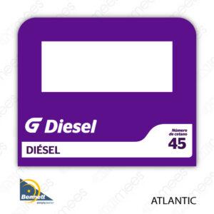 G500-CL-BATL-PPL-03 Carátula Lexan G500 Bennett Atlantic PPL Diesel
