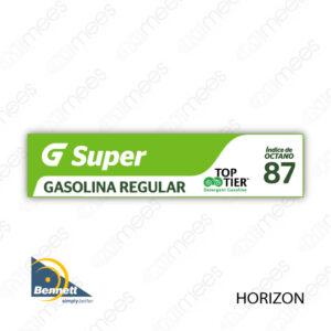 G500-CL-BH-01 Carátula Lexan G500® Bennett Horizon Super