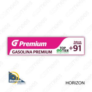 G500-CL-BH-02 Carátula Lexan G500® Bennett Horizon Premium