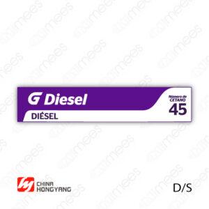 G500-CL-HONG-03 Carátula Lexan Hongyang D/S Diesel