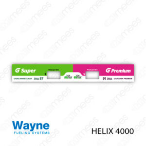 G500-CL-WH4-01 Carátula Lexan Wayne Helix 4000 Super   Premium
