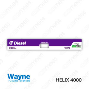 G500-CL-WH4-06 Carátula Lexan Wayne Helix 4000 Diesel