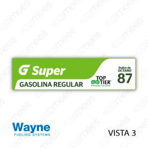 G500-CL-WV3-01 Carátula Lexan G500® Wayne Vista 3 Super