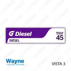 G500-CL-WV3-03 Carátula Lexan G500® Wayne Vista 3 Diesel