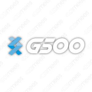 G500-SEÑ-018 Calcomanía G500 Rótulo Transferible P/Exhibidor de Aceites
