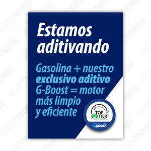 G500-SEÑ-022 Señalamiento Estamos Aditivando