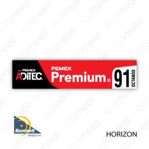 PMX-CL-BH-02 Carátula Lexan PEMEX® Bennett Horizon Premium