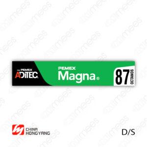 PMX-CL-HONG-01 Carátula Lexan PEMEX® Hongyang Magna