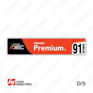 PMX-CL-HONG-02 Carátula Lexan PEMEX® Hongyang Premium