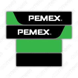 PMX-REC-GE5-02 Recubrimiento Pemex® Nivel 3 Canopy Dispensario Gilbarco Encore 500