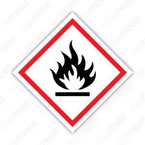 SGA 004 Señalamiento Símbolo Inflamables