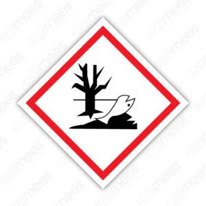 SGA 011 Señalamiento Símbolo Tóxicos Ambientales