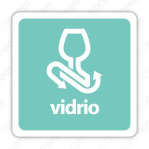 SRE 006 Señalamiento Vidrio