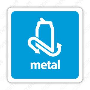 SRE 007 Señalamiento Metal