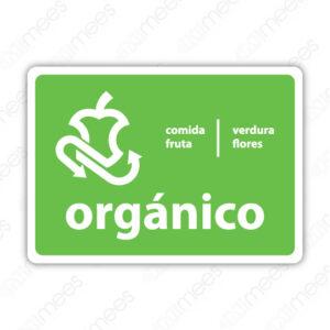 SRE 011 Señalamiento Orgánicos