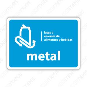 SRE 017 Señalamiento Metal