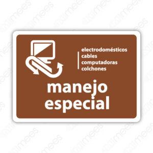 SRE 020 Señalamiento Manejo Especial