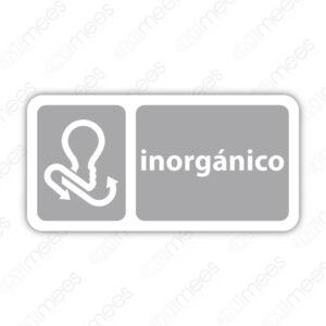 SRE 022 Señalamiento Inorgánicos