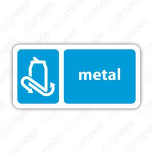 SRE 027 Señalamiento Metal