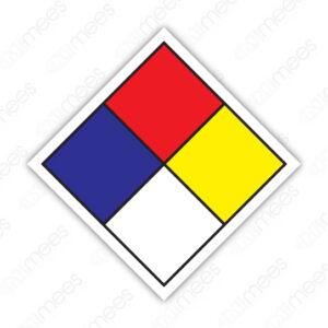SSC 001 Señalamiento Rombo Para Identificación de Riesgo