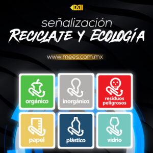 Señalización Reciclaje y Ecología